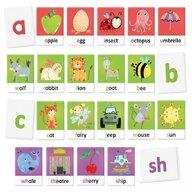 Headu - Set cartonase Sa invatam alfabetul Montessori