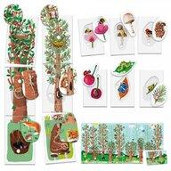 Headu - Set cartonase Sa invatam natura Montessori