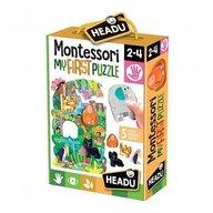 Headu - Montessori primul meu puzzle Jungla