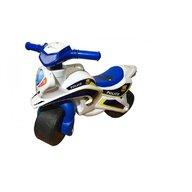 MyKids - Motocicleta de impins  Police Music 0139/51 Alb Albastru