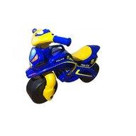 MyKids - Motocicleta de impins  Police Music 0139/57 Albastru Galben
