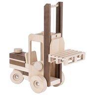 Goki Nature - Vehicul de lemn Motostivuitor Pentru joc de rol