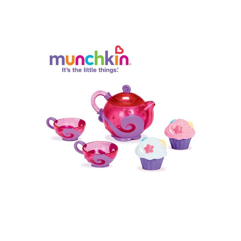 Munchkin Jucarie de baie Set ceai si prajiturele din categoria Jucarii de baie de la Munchkin
