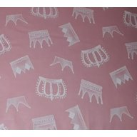 MyKids - Lenjerie  Crowns 4+1 Piese 120x60, Pink