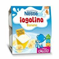 Nestle - Gustare Baby Iogolino, cereale si banane, 4x100g