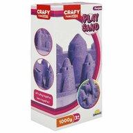 CRAFY - Nisip kinetic 1000 gr Fun Sand, Violet