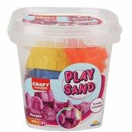 CRAFY - Nisip kinetic 350 gr, Cu 3 unelte de modelat Fun Sand, Violet