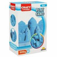 CRAFY - Nisip kinetic 500 gr Fun Sand, Albastru
