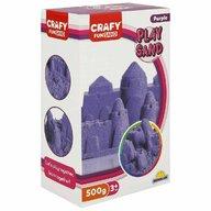CRAFY - Nisip kinetic 500 gr Fun Sand, Violet
