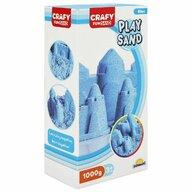 CRAFY - Nisip kinetic 1000 gr Fun Sand, Albastru