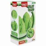 CRAFY - Nisip kinetic 1000 gr Fun Sand, Verde
