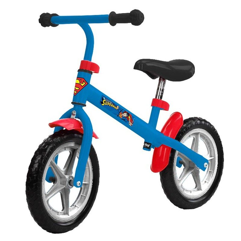 Bicicleta fara pedale Superman 12 Nordic Hoj din categoria Biciclete copii de la Nordic Hoj