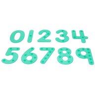 TickiT - Set de numere Amuzante Cu buline, Pentru trasat, Verde