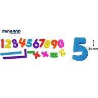 Miniland - Numere magnetice  162 buc