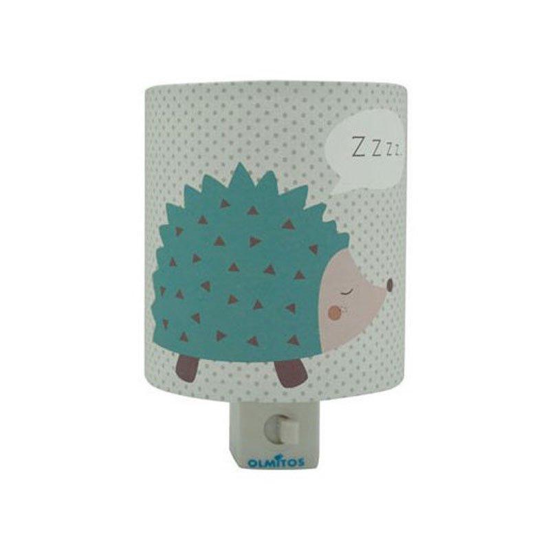 Olmitos - Lampa de veghe copii cu intrerupator Erizo