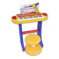 Bontempi - Orga Electronica Cu microfon, Cu picioare si scaun, Cu conexiune la dispozitive muzicale