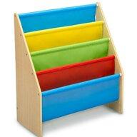 Delta Children - Mobilier depozitare jucarii Organizator carti din Lemn, 60x30 cm, Multicolor