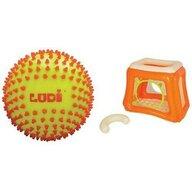 Ludi - Spatiu de joaca gonflabil Cat Cu minge senzoriala bicolora
