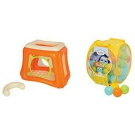 Ludi - Spatiu de joaca gonflabil Cat Cu set bile de joaca Mixt