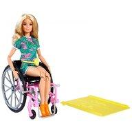 Barbie - Papusa  In scaun cu rotile, Cu rampa by Mattel Fashionistas