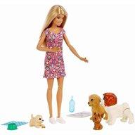 Mattel - Papusa Barbie Cu catelusi, Multicolor