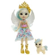 Enchantimals - Papusa Paolina Pegasus Cu figurina Wingley by Mattel