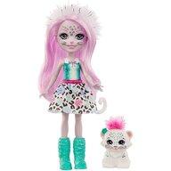 Enchantimals - Set papusa Sybill Snow Leopard by Mattel
