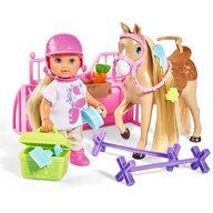 Simba - Papusa Evi Love 12 cm Holiday Horse cu calut si accesorii