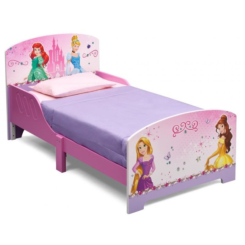 Pat cadru lemn Disney Princess Friendship