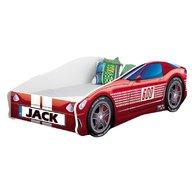 MyKids - Pat tineret Race Car 01 Red , 160x80 cm