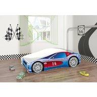 MyKids - Pat tineret Race Car 02 160x80, Blue