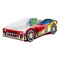 MyKids - Pat tineret Race Car 05 Red , 140x70 cm