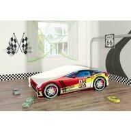 MyKids - Pat tineret Race Car 05 Red , 160x80 cm