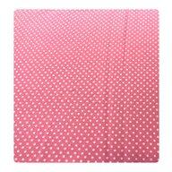 Deseda - Paturica dubla din bumbac Buline albe pe roz