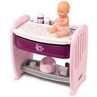Smoby - Patut Co-Sleeper pentru papusi Baby Nurse 2 in 1