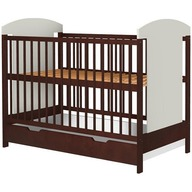 Hubners - Patut copii din lemn Kamilla 120x60 cm Venghe cu sertar