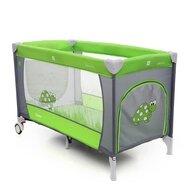 Coto Baby - Patut pliant cu doua nivele Samba Plus, 120x60 cm, Verde