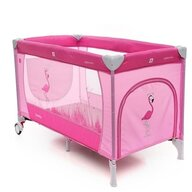 Coto Baby - Patut pliant cu doua nivele Samba Plus, 120x60 cm, Roz