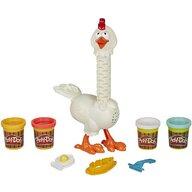 Play-Doh - Set de joaca Puiul traznit cu pene colorate, Multicolor