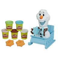 Play-Doh - Set de joaca Sania lui Olaf, Multicolor