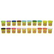 Play-Doh - Set de modelat Pasta de modelat colorata 40 de borcanase, Multicolor