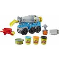 Play-Doh - Set de joaca Constructii cu betoniera Cu accesorii, Multicolor