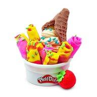 Play-Doh - Set de joaca Inghetata colorata si delicioasa, Multicolor