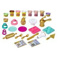 Play-Doh - Set de joaca Patiserului cu tematica aurie, Multicolor