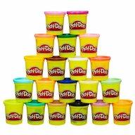 Play-Doh - Set de modelat Super pachetul Cu 20 de cutii, Multicolor