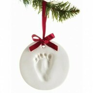 Pearhead - Kit amprenta Pentru mulaj manuta sau piciorus, Pentru ornament bradut