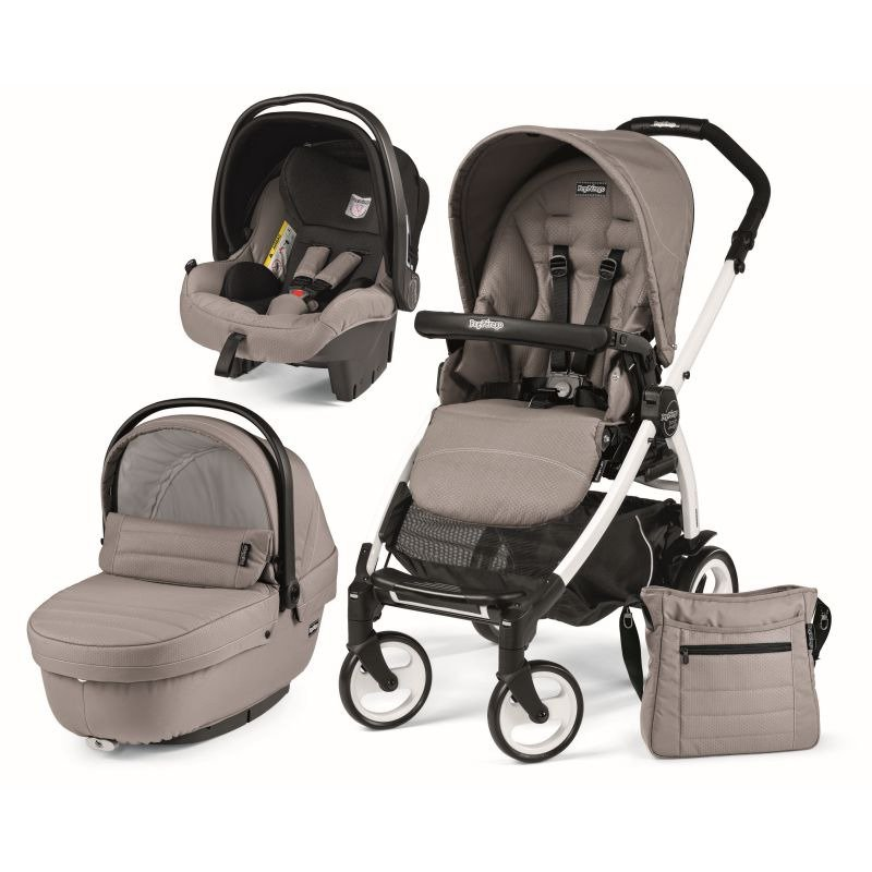 Peg Perego Carucior 3 in 1 Book Plus 51 Black&White Sportivo SL