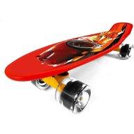 Seven - Skateboard Penny board Disney Cars din Polipropilena, Rosu