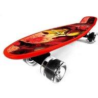 Seven - Skateboard Penny board Iron Man din Polipropilena, Rosu