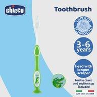 Chicco - Periuta pentru dinti de lapte , 3-6 ani, verde